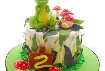 Grace 3rd Birthday Cake