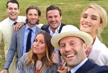 Henry Cavill attends Guy Ritchie's wedding /    Henry Cavill among other stars was a guest at the wedding of Guy Ritchie, the director of The Man from U.N.C.L.E. — actor Jason Statham takes an epic selfie! Congrats to Guy and his wife, Jacqui Ainsley! The wedding took place on Thursday, July 30, at Guy Ritchie's country home in Wiltshire, Great Britain !
