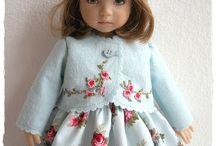 Vestidos de boneca