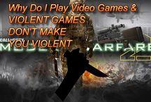 Do videogames make you violent or teach how to kill?