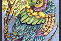 My owls:)) / by C.k. Tice