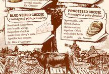Cheese Infographics