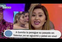 A Gomita la persigue su pasado en Televisa ¡no se aguantó y peleó en vivo!