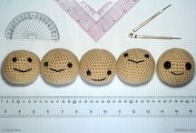 Crochet- Amigurumis / Crocheted toys and how to make them. / by Linda Gibelyou