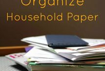reduce and organize household papers