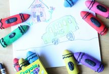 Back to School....Crayon Theme / by Carla M.