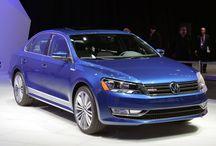 Volkswagen BlueMotion Passat Concept / Revealed at the 2014 Detroit Auto Show.