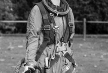 Raumanzug - Spacesuit - Astronautenanzug / Raumanzuüge und Astronautenanzüge für Filproduktionen.