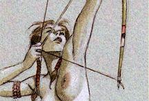 Droit au but / Tir à l'arc : les innombrables représentations du geste de l'archer