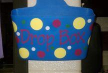 Start of school day / Drop in box