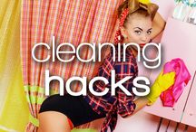 Cleaning Hacks / A tidy home is always great, and who doesn't love cleaning (right guys? right?)