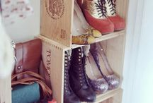 Shoe storage  / There's always room for more shoes!