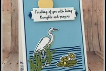 Lilypad Lake - Stampin Up / projects created with the Lilypad lake Bundle from Stampin Up #stampinup #lilypadlake #cardideas #diy #handmadecards