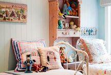 värikäs lastenhuone inspiration