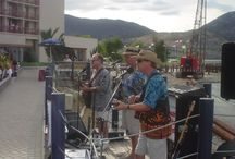 """Amazing Rubber Band / The Penticton based, award winning Amazing Rubber Band played fun, """"baby boomer"""" dance music through out the Okanagan in the 2000's to 2012."""