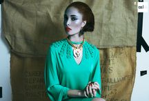 Work your flow photoshoot ideas / Photoshoot ideas for Ziindya Jewellery SS15 collection