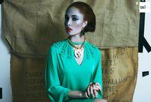 Work your flow photoshoot ideas / Photoshoot ideas for Ziindya Jewellery SS15 collection