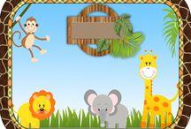 Jungle theme bday