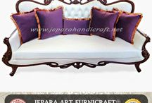 Set Kursi Tamu Ukir ( Carving Living Room )