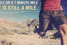 Running Half Marathons / Running
