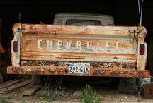 Trucks / Good Ol Chevy Trucks / by Stacey Mullen