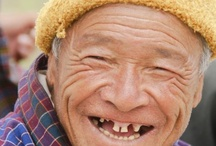 Toothless Smile / Smile without your implant or dentures.