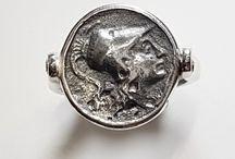 Linea gioielli con Monete Greche