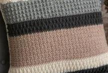 Polštáře pletene