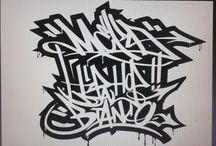 Grafiche personalizzate by SGRE / grafiche grafiche per t shirt grafiche lettering wild style tag writing