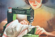 Vintage sewing machine ads / Vintage sewing machine ads