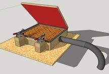 vacuum press