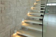 escada de placas