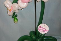 Balloons twisting flower / their works :)