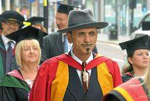 Graduation / Our graduates, alumni and honorary graduates! http://www.wlv.ac.uk/alumni