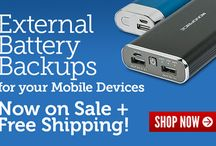 Mobile Power for your #Apple and #Android! / Now is the time! Stack up on Battery Backups... awesome deals at monoprice.com / by Monoprice.com