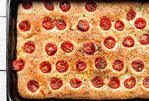 pizza, focaccia, chleb...