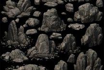 Скалы,горы,камни.