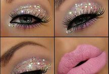 Glitzy Make Up