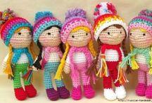 вязание-игрушки куклы