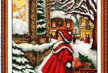 Bożonarodzeniowy obrazek