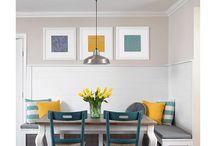 kitchen  tables / spaces