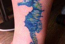 Jai's healed tattoos