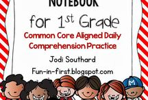 First Grade-Comprehension / by Tammy Shepard