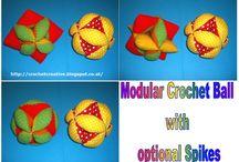crochet toys / crocheted toys