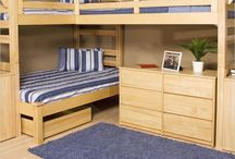 Bunk beds for small room / For C & J