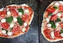 Stone Cooked Pizzas