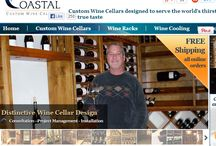 Coastal Custom Wine Cellars an Introduction / This will take you to a short tour of our website http://www.winecellarsbycoastal.com/. Coastal Custom Wine Cellars have nearly 14 years of experience designing wine cellars and we offer concepts to completion wine packages consisting of high quality materials such as architectural grade mahoganies, red woods and alder woods with stain and finish options.