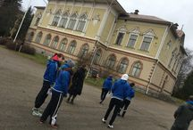 Heinolan vastaanottokeskus 11.11.2015 / Aktiviteetti-päivä Heinolan vastaanottokeskuksen turvapaikanhakijalapsille. Matkailualan viimeisen vuoden opiskelijat tapahtumanjärjestäjä opinnoissaan toteuttamassa.