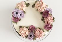 Beautiful buttercream and ganache cakes / Not every cake needs fondant to make it magical!