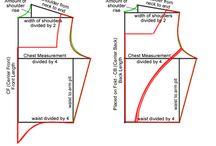 7.1.2. Patterns -  bodice / corselet / stays